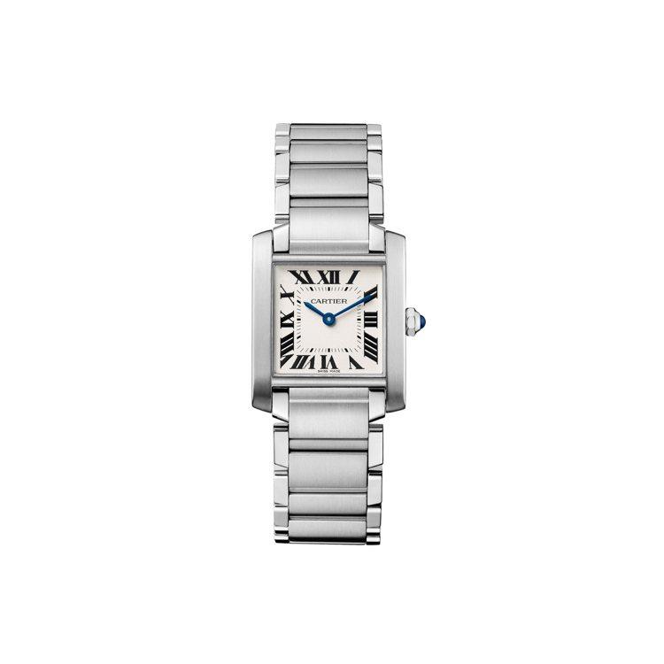 Cartier,Tank系列TANK FRANÇAISE腕錶中型款,價格店洽。圖...