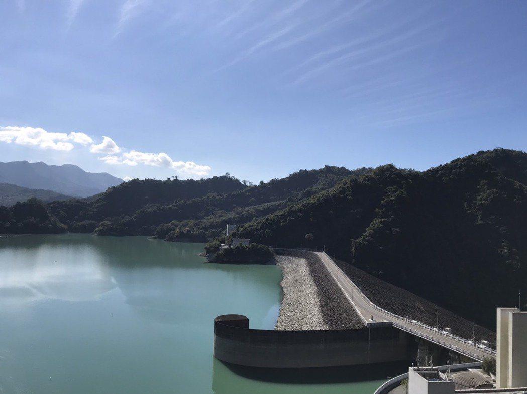 曾文水庫目前水情不錯,對穩定南部供水有助益。圖/南水局提供