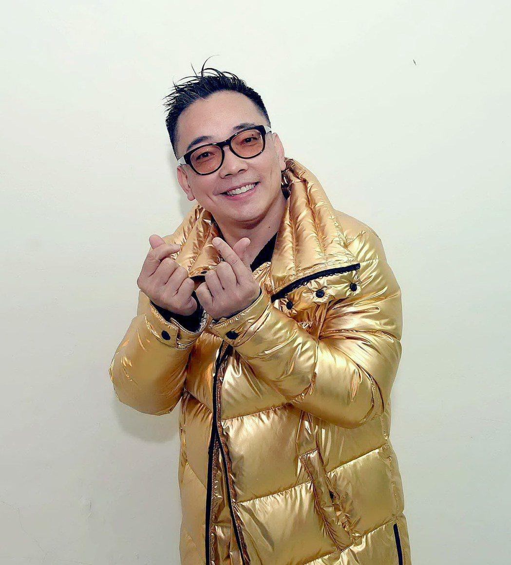 詹惟中希望大家一起愛台灣。圖/華視提供