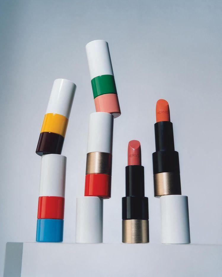 愛馬仕即將推出24支唇膏,每季另上市3款季節限定色彩。圖/取自The Wall ...