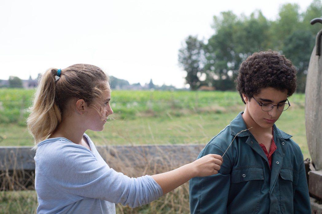 阿罕默德在進入觀護所輔導後認識農場女兒露易絲。捷傑提供