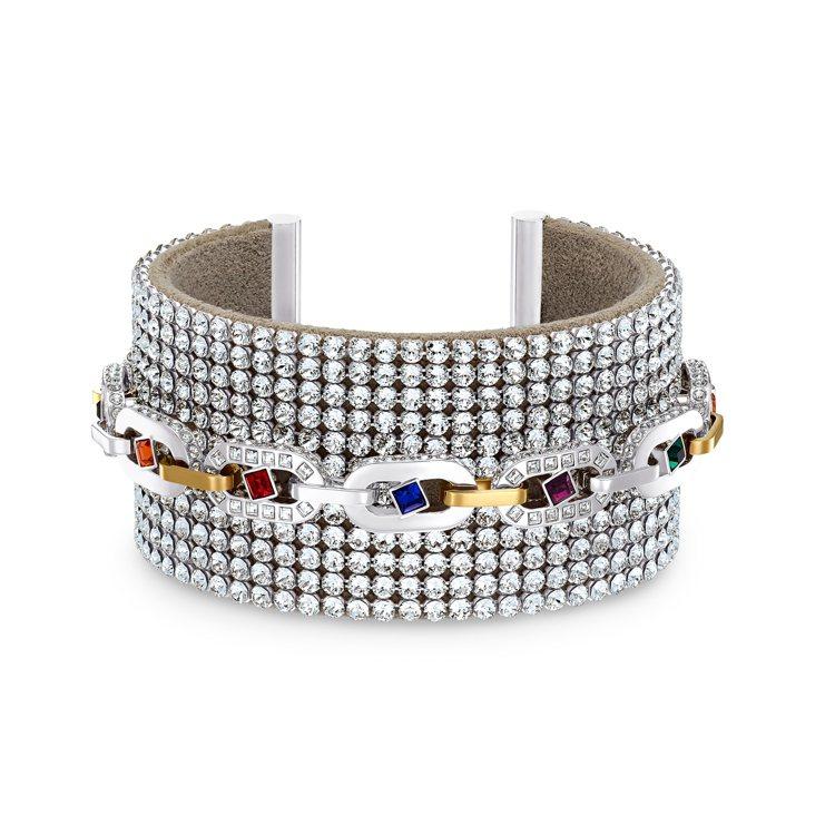 Swarovski,SPECTACULAR手環,16,900元。圖╱Swarov...