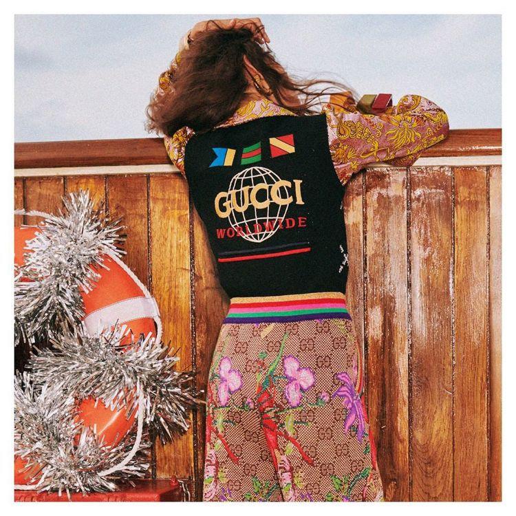 Gucci轉移台北東區陣地,四月將進駐SOGO復興館。圖/摘自IG