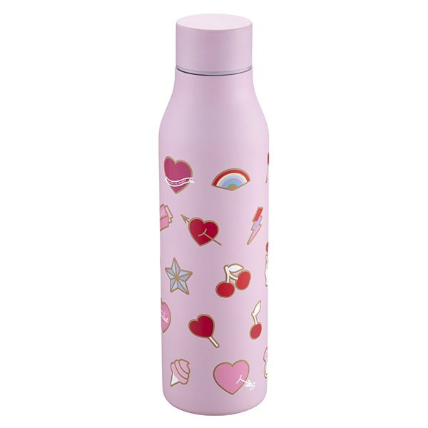 情人物語不鏽鋼水瓶,售價900元。圖/星巴克提供