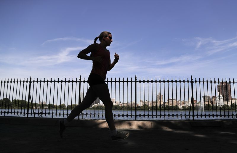 多項研究指運動能有益身心。(美聯社)