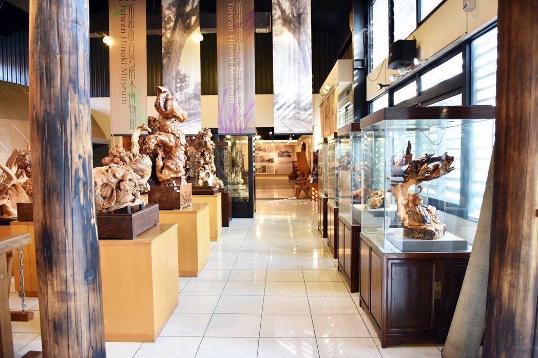 希諾奇台灣檜木博物館/提供