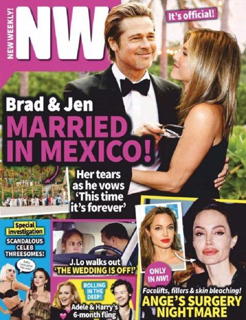 布萊德彼特與珍妮佛安妮絲頓在金球獎頒獎典禮的友善互動後,歐美八卦雜誌都迫不及待搶著宣布他們復合,而且每一家的進度都不一樣。 繼被傳過已經準備同居、在墨西哥密會後,本周最新「OK!」雜誌指布珍已經得到...