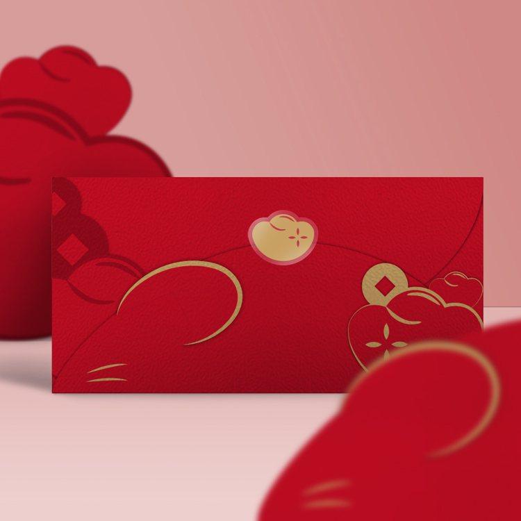 FUN ll鼠圈圈紅包禮袋,售價188元。圖/momo購物網提供