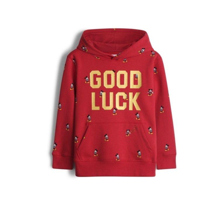 Gap男童迪士尼印花套頭連帽衫,原價1,499元、Yahoo奇摩超級商城2月5日...