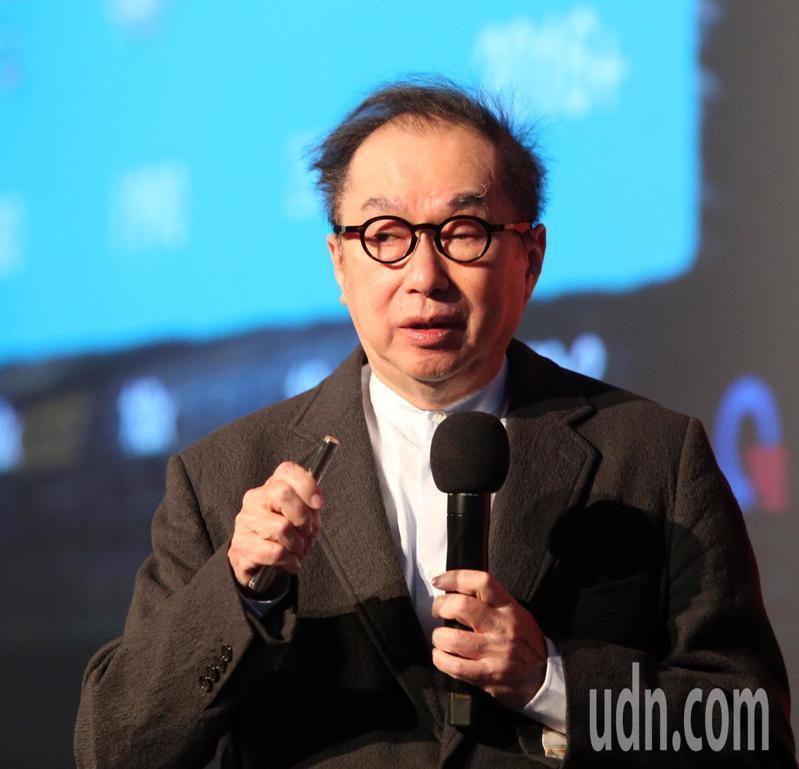 廣達集團董事長林百里應邀發表演說。記者曾吉松/攝影