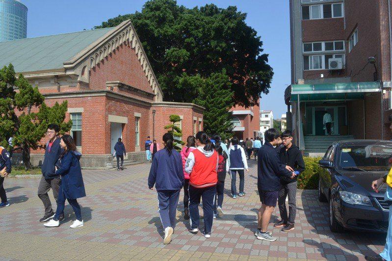 今天是學測最後一天。聯合報系記者鄭惠仁/攝影