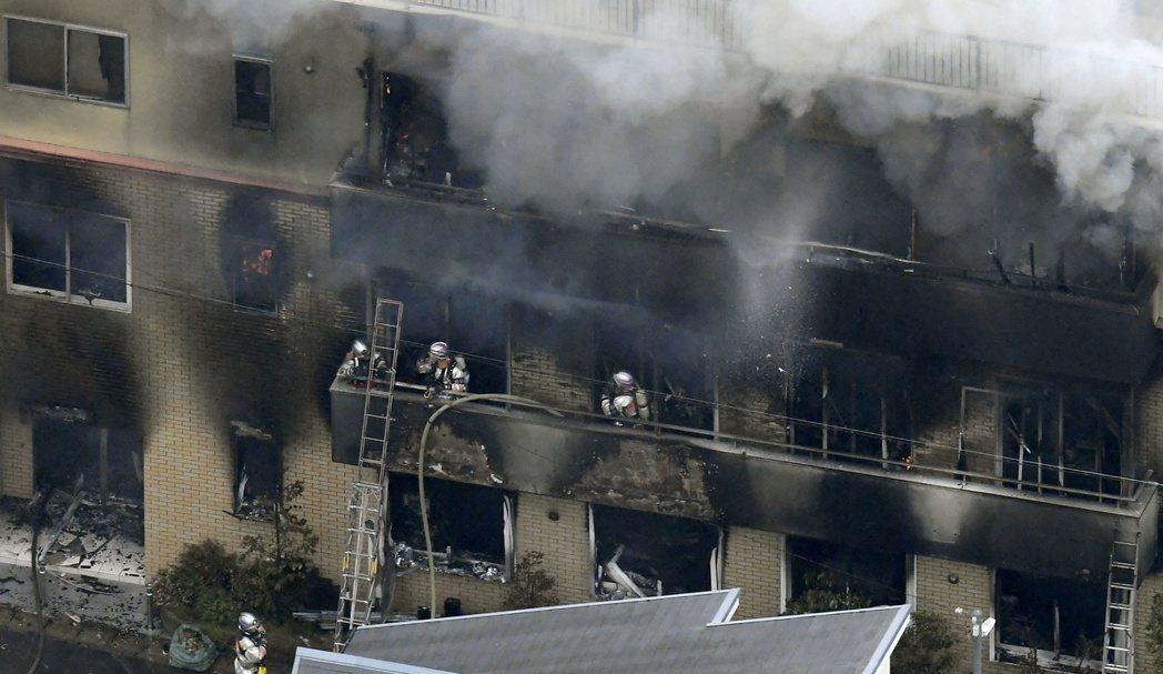 去年7月18日本京都動畫工作室縱火案造成36人死亡、33人輕重傷。路透