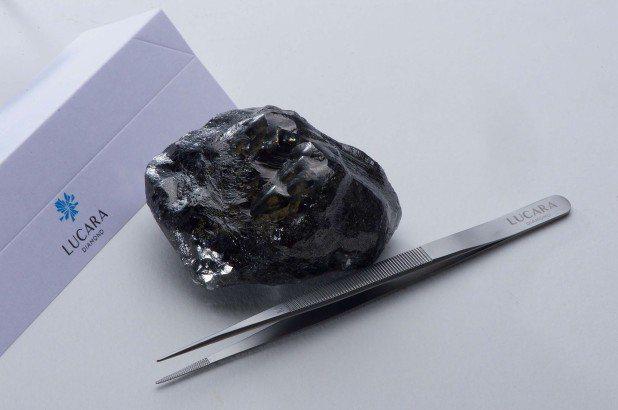 Sewelô鑽石。圖片取自加拿大礦商Lucara