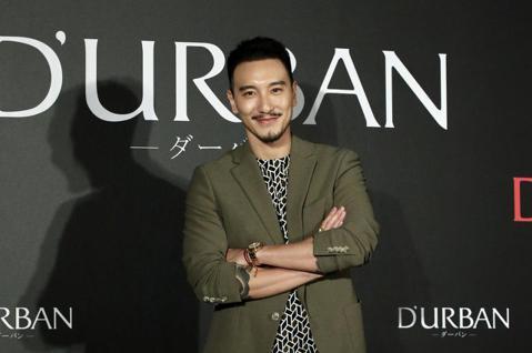 藝人王陽明出席D'URBAN 50週年品牌活動,這也是他喜得千金後首度公開亮相。