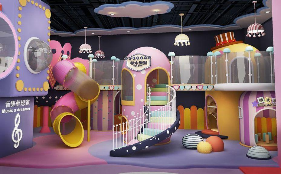 「建築樂園」進駐華泰名品城,打造全新「怪獸學院體驗館」。圖/摘自建築樂園粉絲專頁