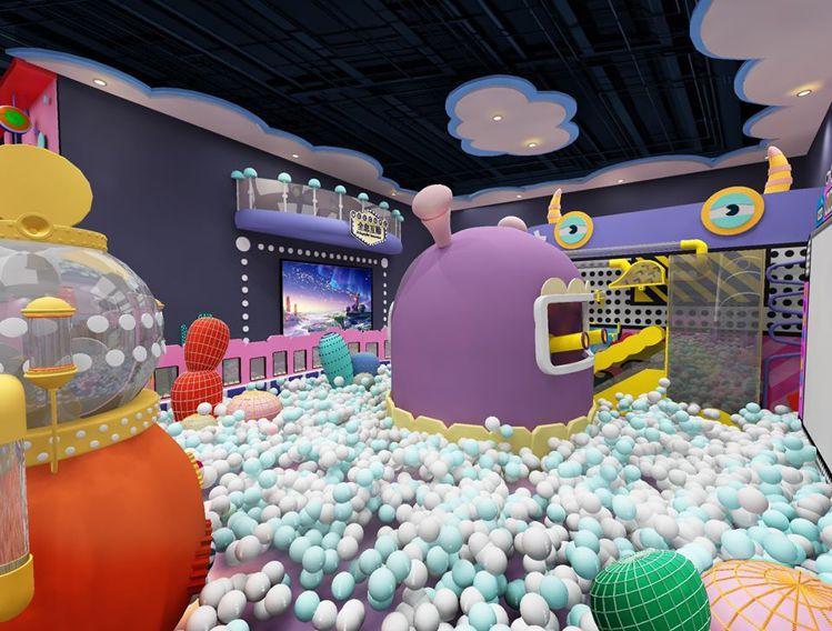 「建築樂園」進駐華泰名品城,打造「怪獸學院體驗館」。圖/摘自建築樂園粉絲專頁