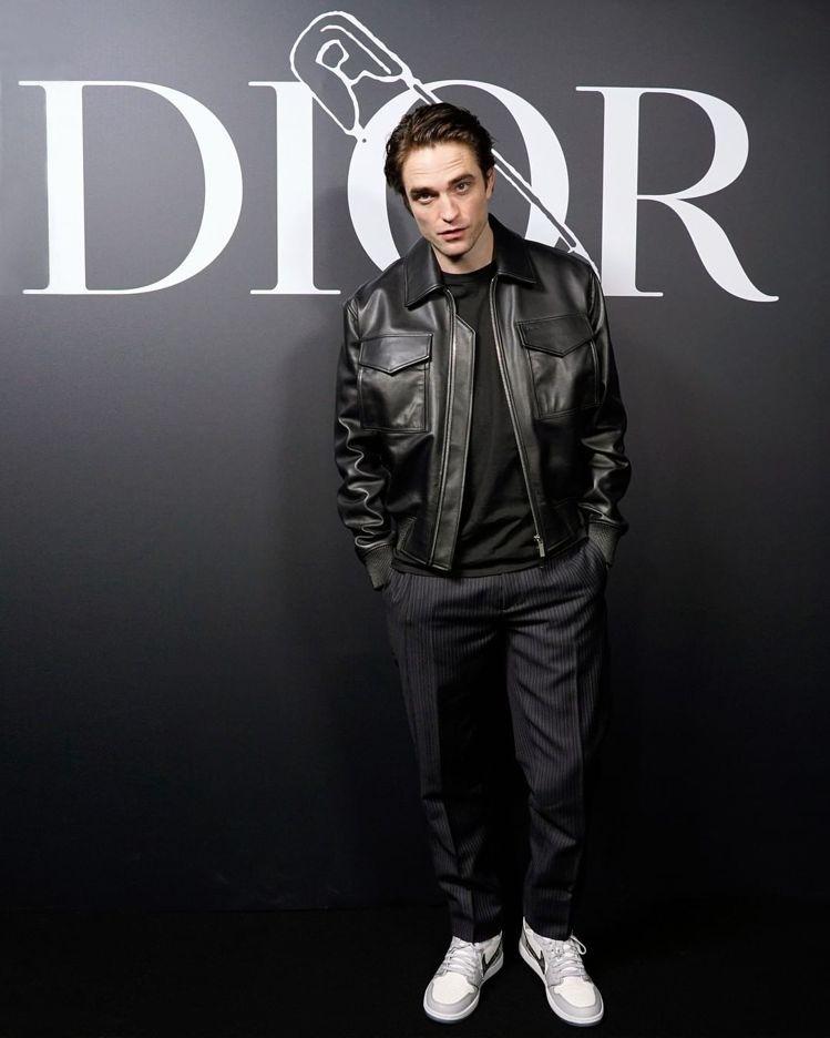品牌好友羅伯派汀森是DIOR MEN 2020冬季大秀嘉賓。圖/取自IG