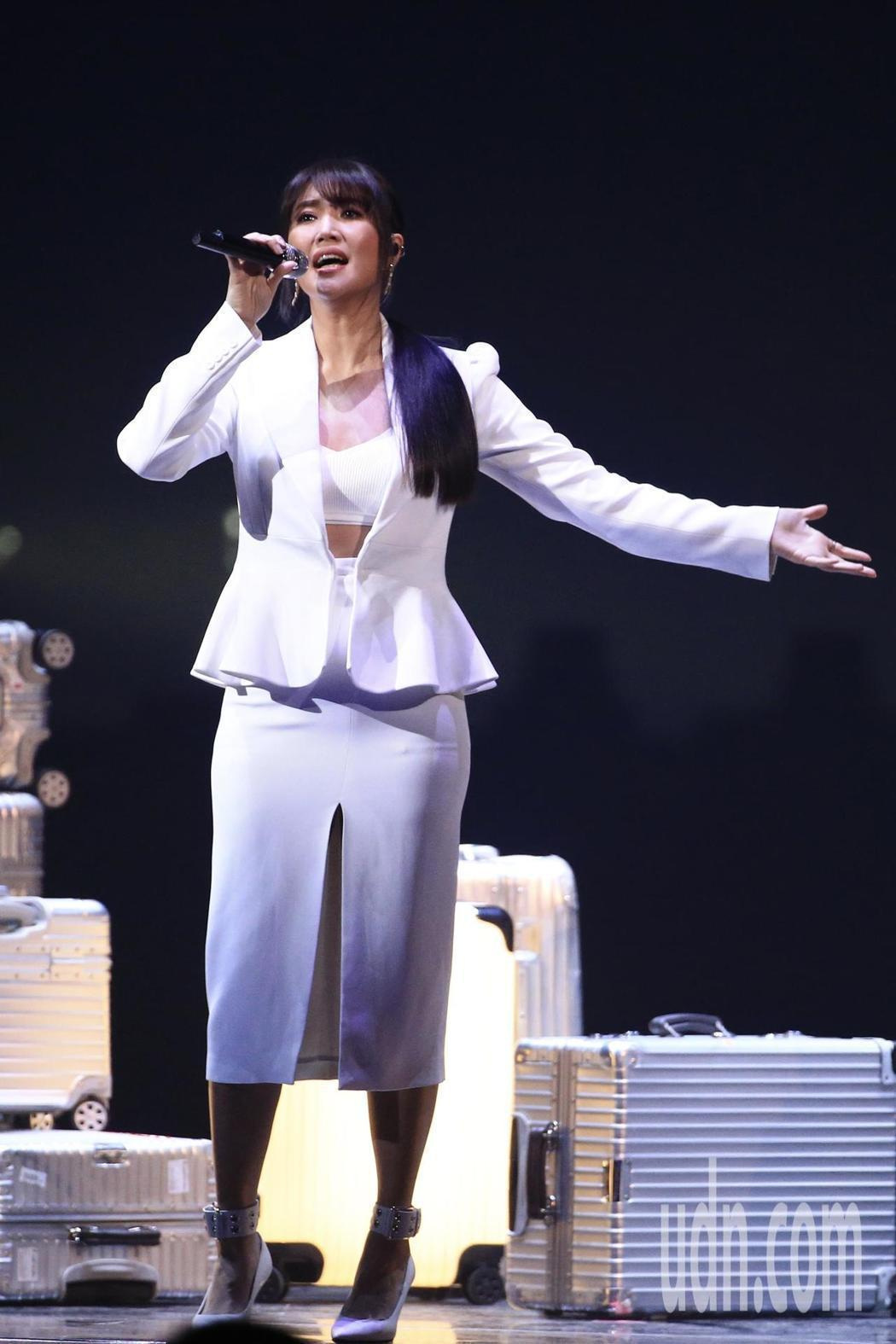 A-Lin今晚為KKBOX風雲榜帶來最大規模編制演出。圖/索尼提供