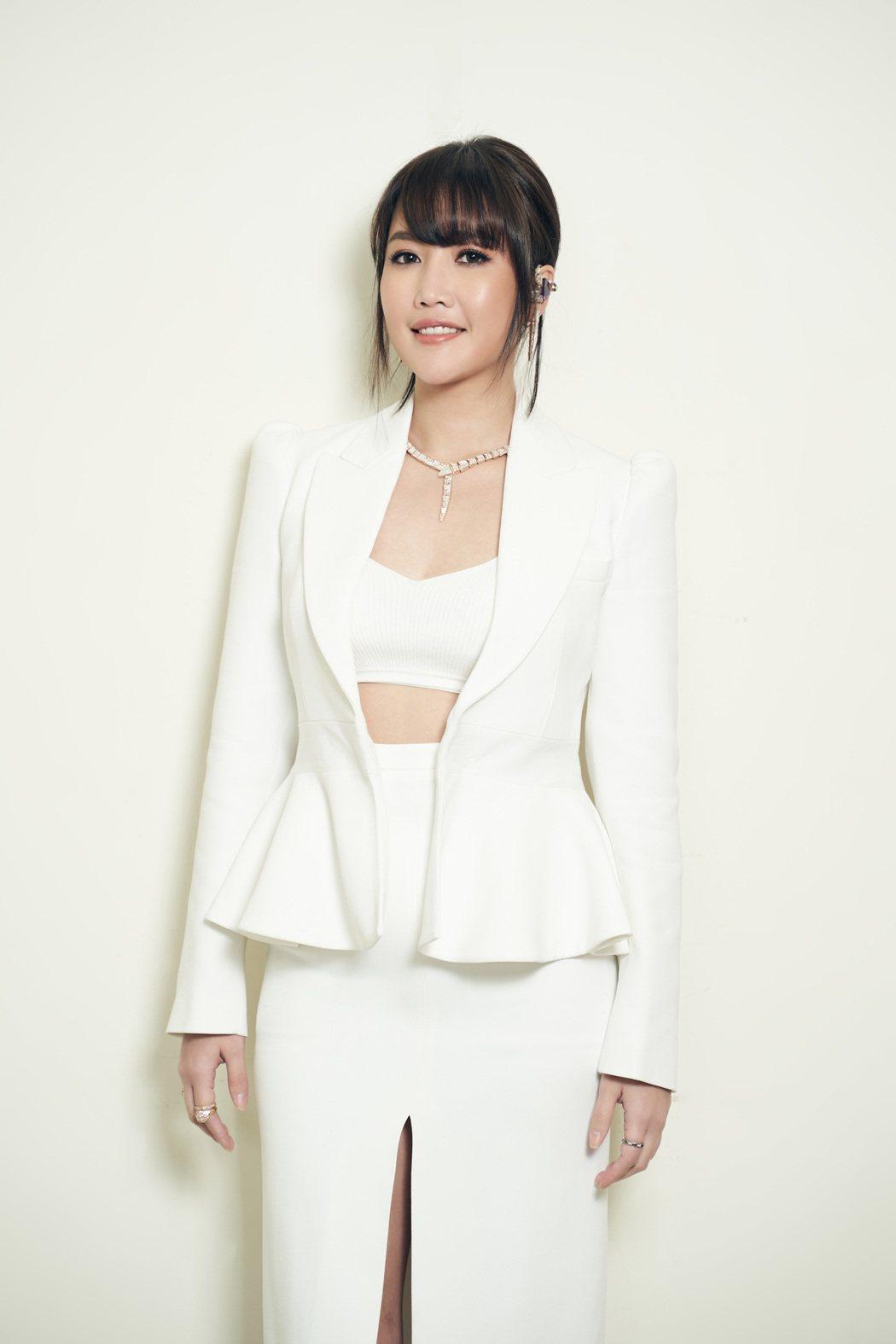 A-Lin今晚為KKBOX風雲榜演出,身材削瘦不少。圖/索尼提供