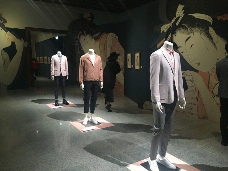 同時融合「浮世繪」畫作與最新DURBAN 2020春夏服裝展示,將工藝精神由畫作...