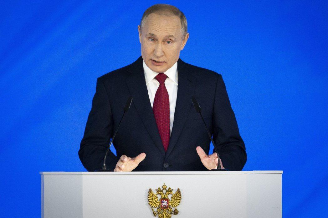 俄國總統普亭。美聯社