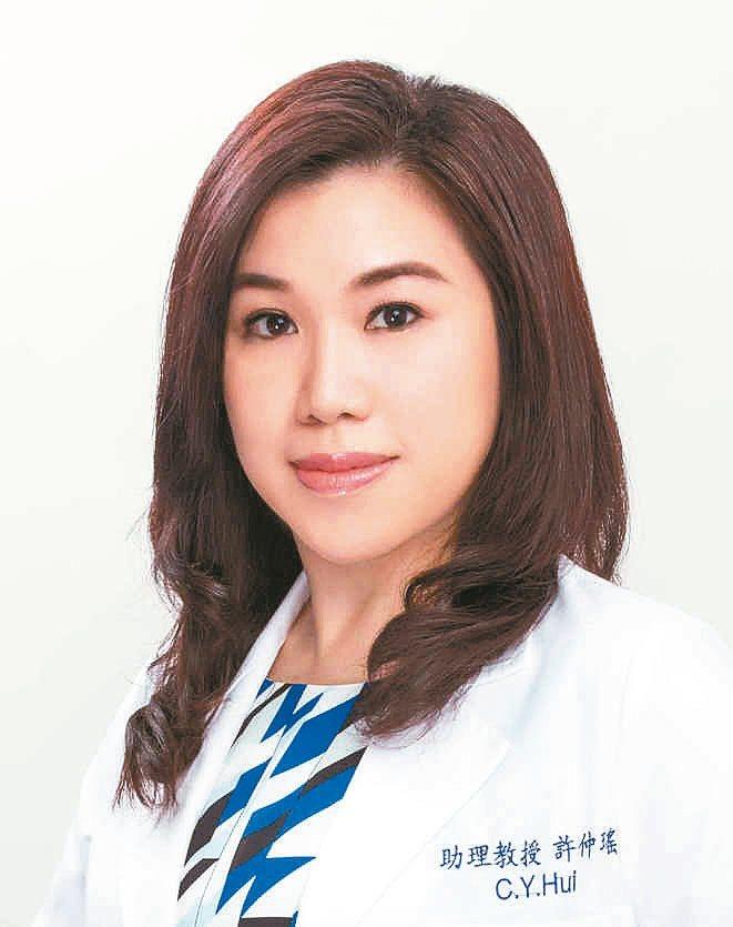 許仲瑤林口長庚皮膚科助理教授級主治醫師 圖╱許仲瑤提供