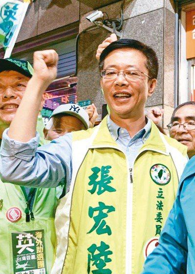 民進黨新北市第6選區立委張宏陸。 記者張曼蘋/攝影