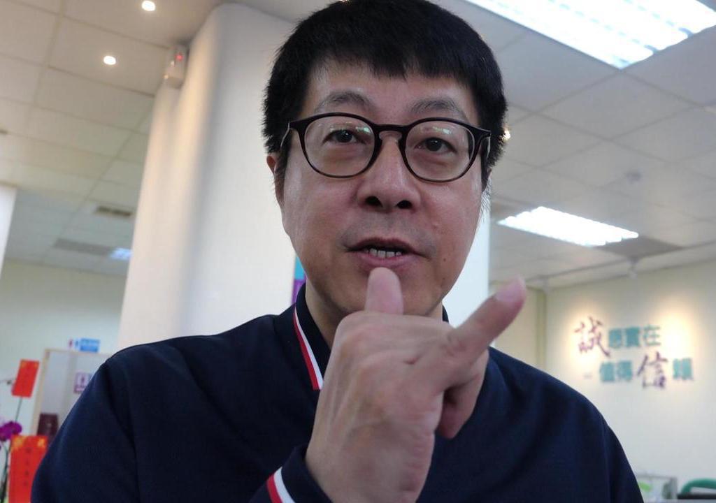 發起罷韓的高雄市文化局前局長尹立。 記者楊濡嘉/攝影