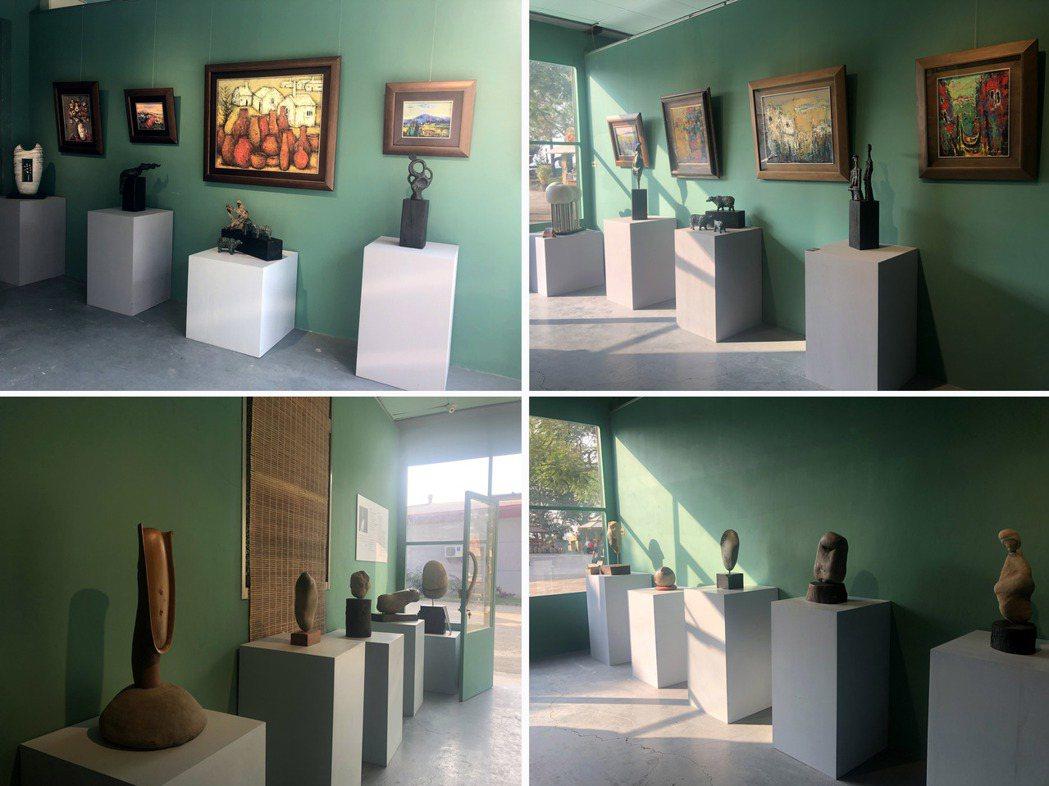 九九峰傳奇人文藝術館在多位藝術家聯手打造下,成為放鬆身心靈的美麗空間。  九九峰...