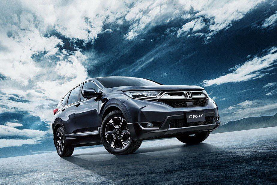 國產休旅熱銷的Honda CR-V今年將有望小改款。 圖/Honda提供 陳威任