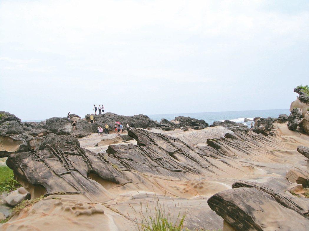 台灣好行在「東部海岸線」推出「1日券299元」,經過小野柳(圖)、水往上流、成功...