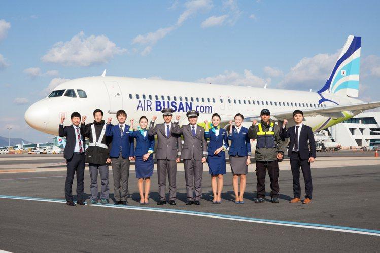釜山航空新年大促銷預計1月20日早上10點開賣。圖/釜山航空提供