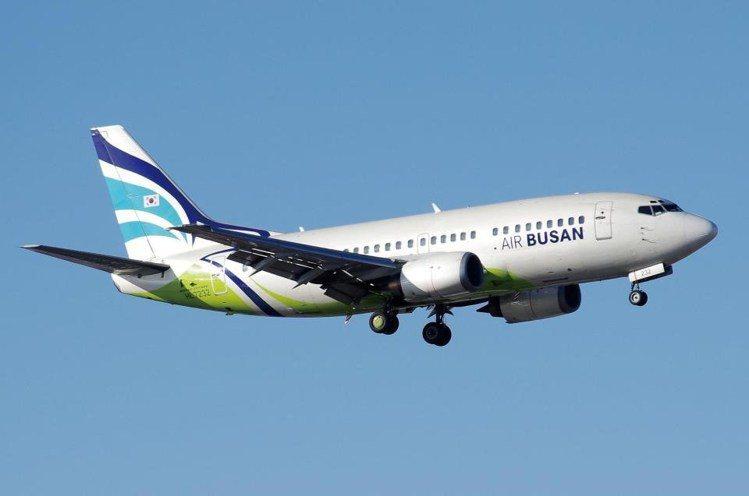 釜山航空推出台北或高雄飛往釜山,單程未稅最低600元。圖/釜山航空提供