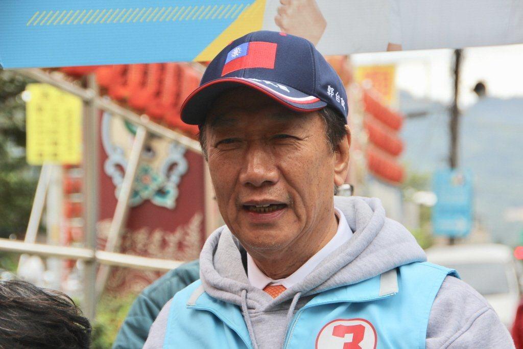 鴻海創辦人郭台銘。報系資料照片。