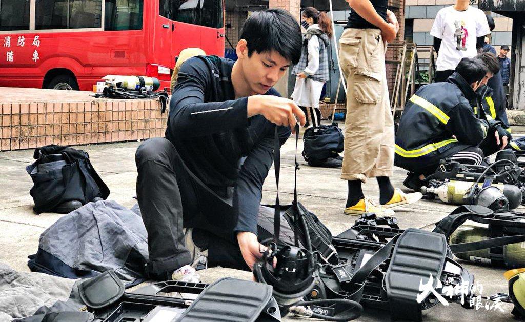 林柏宏將在「火神的眼淚」中飾演消防員。圖/公視提供