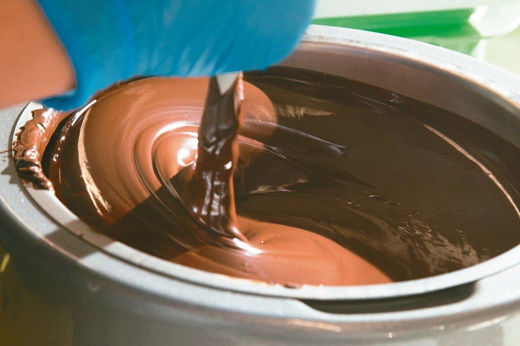 巧克力濃郁絲滑,有無限可能。 攝影/陳立凱