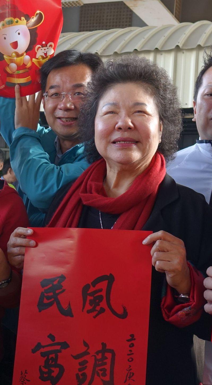 蔡政府上台後,陳菊開始扮演民進黨內「公道婆」角色。圖/聯合報系資料照片