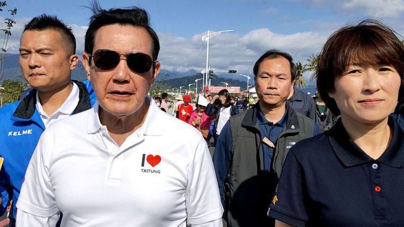 前總統馬英九昨天表示,做總統的責任就是要避免戰事發生。記者羅紹平/攝影