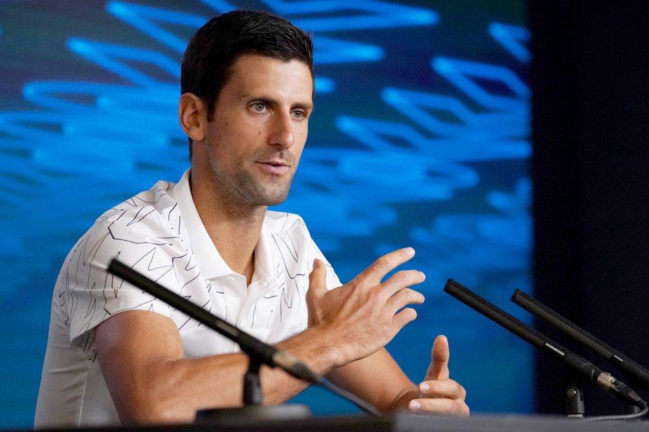 約克維奇出席澳網賽前記者會。 歐新社