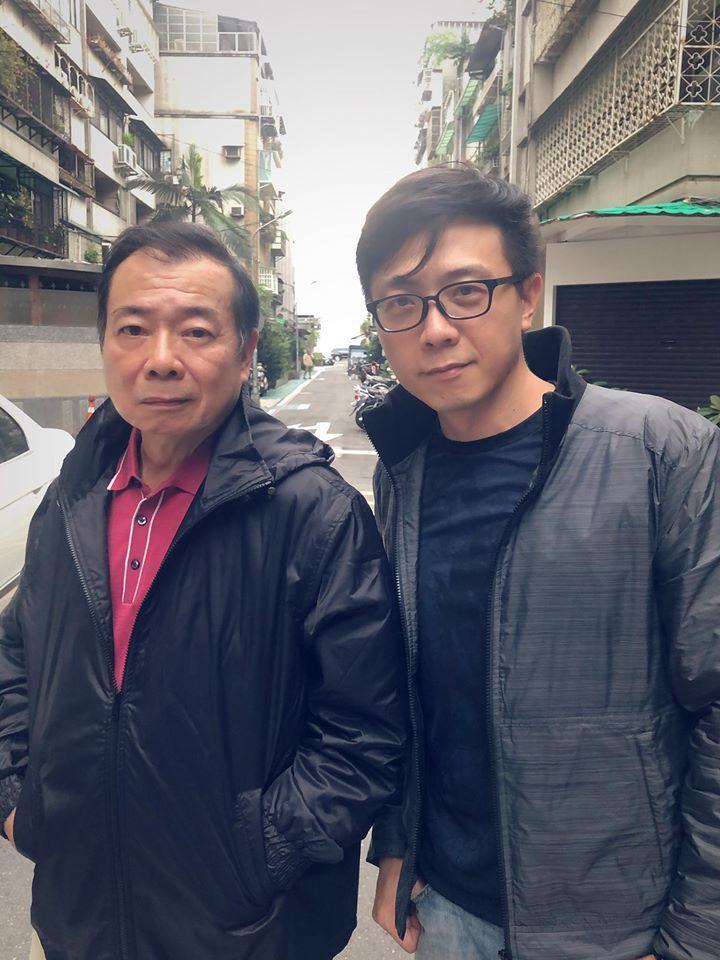廖峻與兒子錦德。圖/擷自臉書