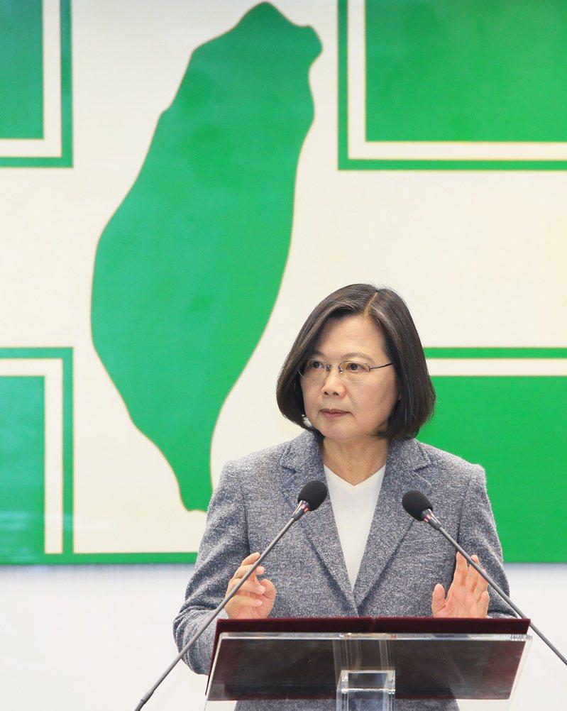 總統蔡英文。記者潘俊宏/攝影