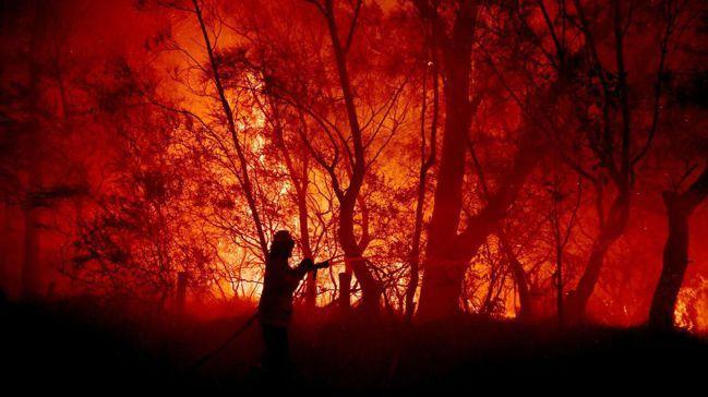 澳洲山林大火衝擊觀光業和消費信心,凸顯氣候變遷的經濟衝擊不再是遠在天邊的隱憂,而...