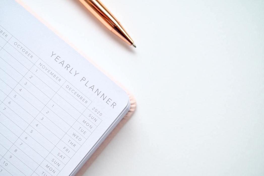 如何設定年度計畫,示意圖。 圖/Pexels