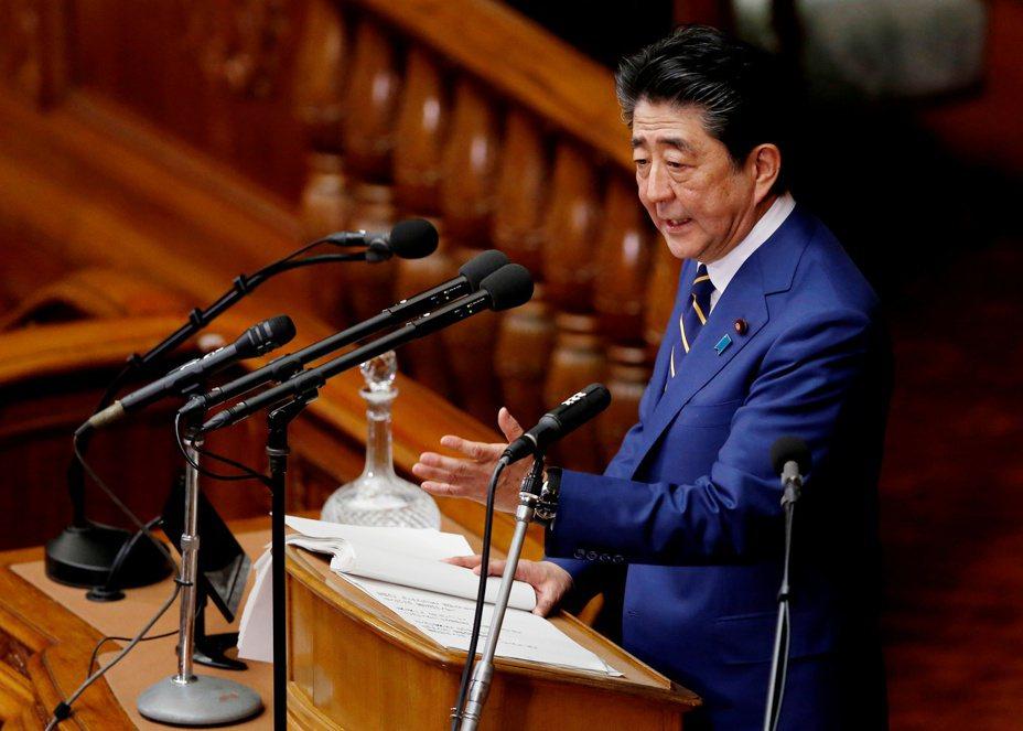 日本首相安倍晉三今天在國會發表施政方針演說。 路透社