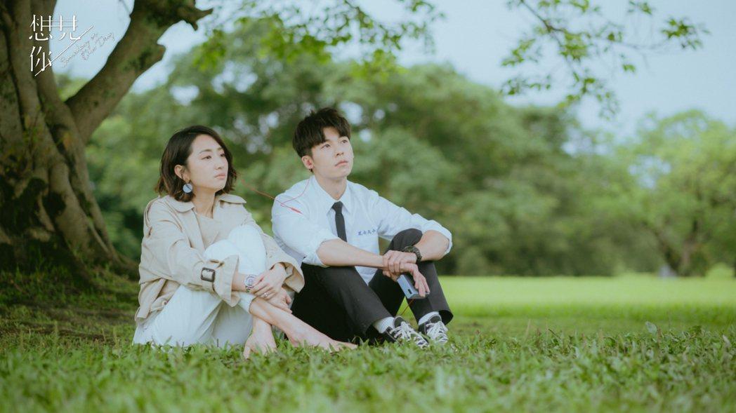 柯佳嬿與許光漢在「想見你」中的虐戀讓人揪心。圖/衛視中文台提供