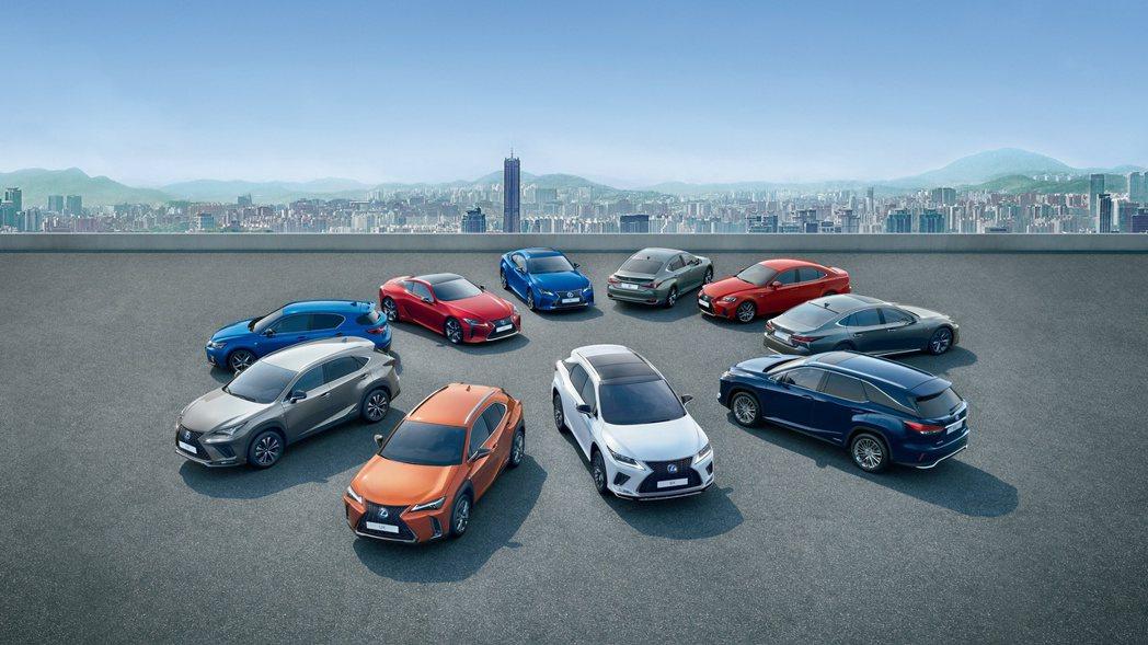 Lexus去年在歐洲市場銷量成長14.5%。 摘自Lexus