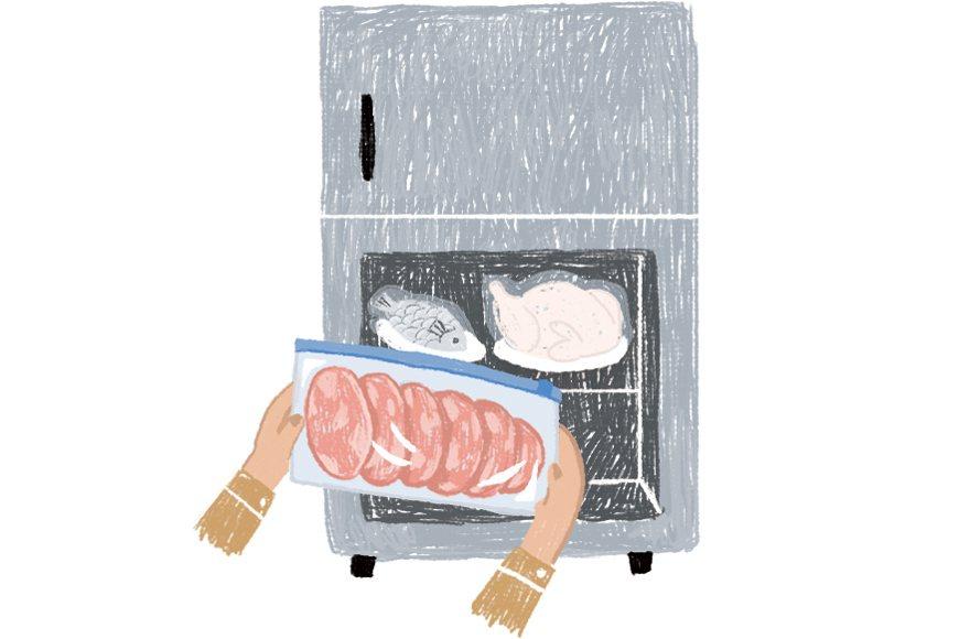 冷藏解凍(1∼2天)。 圖/主婦聯盟提供