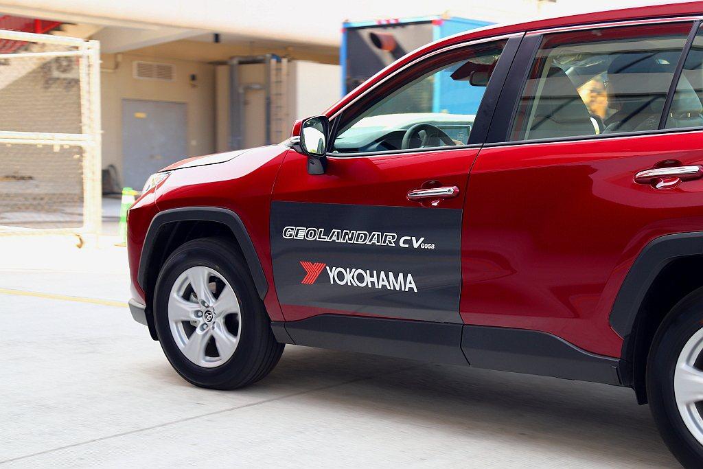 專為跨界休旅打造的全新橫濱Geolandar CV G058新胎,針對市場逐漸熱...