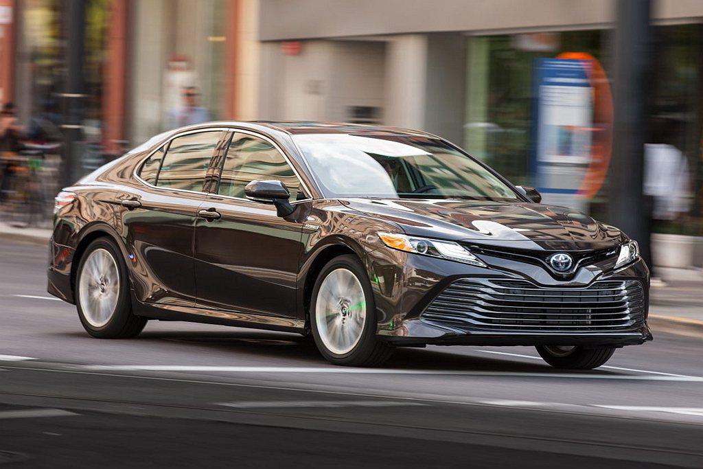 排名已經來到第八的Toyota Camry,為美國2019年最熱賣的房車,年銷售...