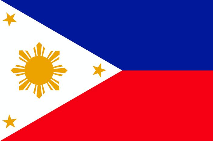 菲律賓國旗。 圖/Pixabay